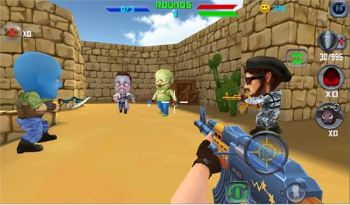 Gun Shoot War Q 2