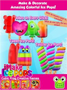 iMake Ice Pops-Ice Pop Maker 1