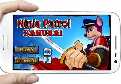 Paw Run ninja Patrol samurai 1