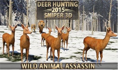 Deer Hunting – 2015 Sniper 3D 3