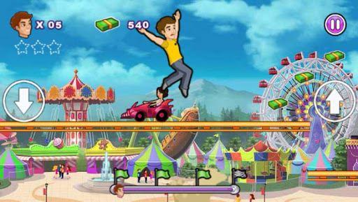 Roller Coaster : Thrill Rush 5