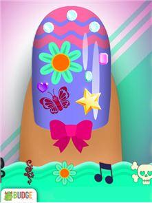Crayola Nail Party: Nail Salon 4