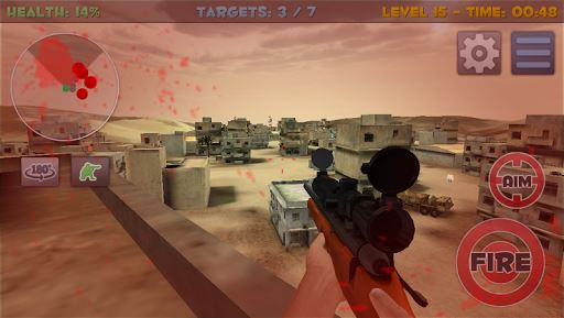 Sniper Commando Assassin 3D 3