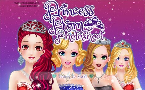 Princess Prom Photoshoot 1