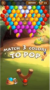 Forest Bubble Shooter Rescue 3