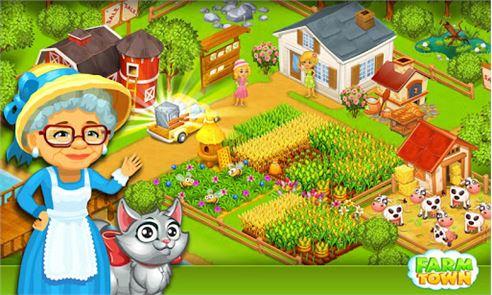 Farm Town:Happy City Day Story 6