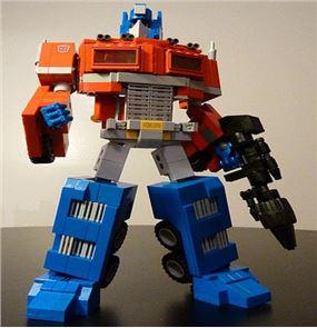 Toy Optimus Prime Puzzle Games 1