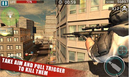 SWAT Crime Sniper 6
