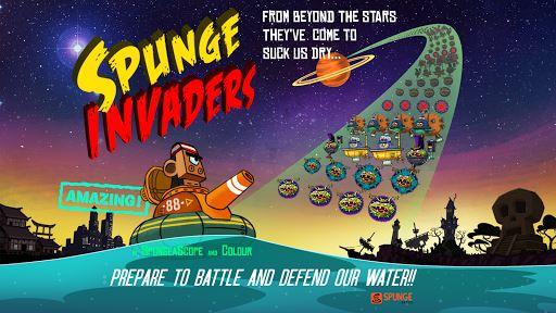 Spunge Invaders 6