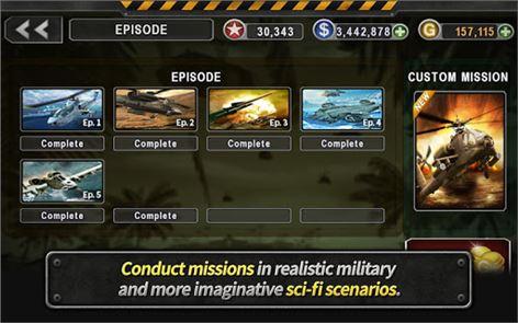 GUNSHIP BATTLE: Helicopter 3D 5