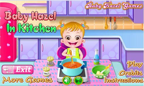 Baby Hazel Kitchen Time 2