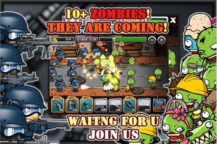 SWAT and Zombies 5