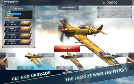 WW2 Aircraft Battle 3D 3