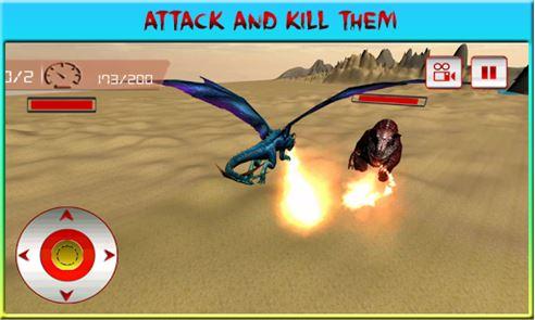 Flying Dragon War Simulator 4
