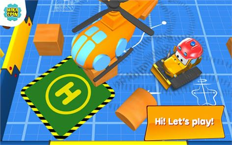 Bulldozer driving game for kid 4