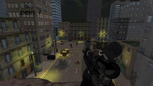 Army Sniper Duty Street War 2