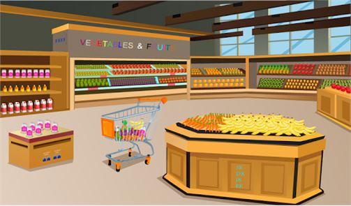 Shopping Mall Escalator Escape 3