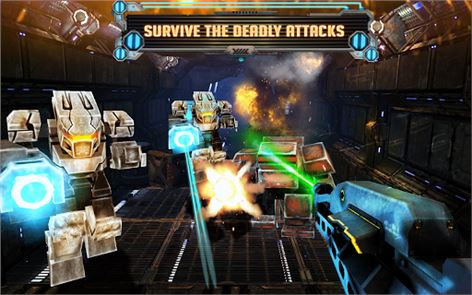 ROBOTS ARMY WAR 4
