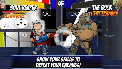 Superheros Free Fighting Games 6