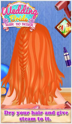 Wedding Bride Hair Do Design 6
