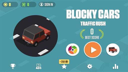 Blocky Cars: Traffic Rush 2