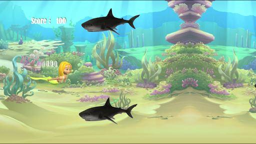 Shark Attack Mermaid 1