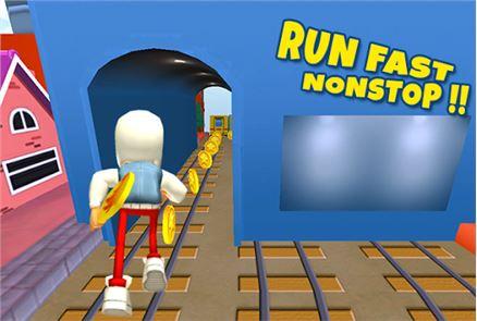 3D Subway Kids Rail Dash Run 1