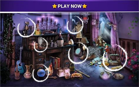 Hidden Objects Haunted House 3