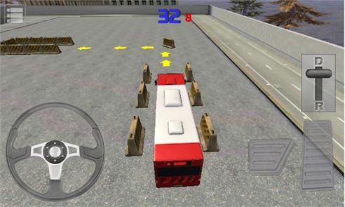Bus Parking 3D 2