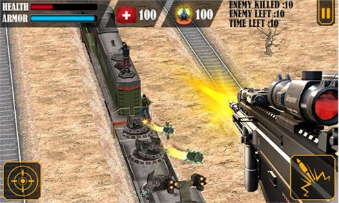 Train Attack 3D 2