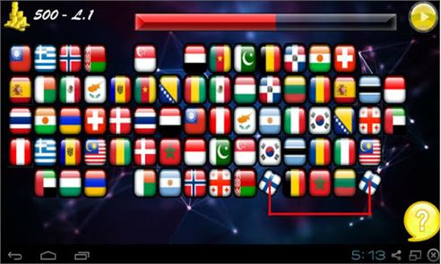 Onet Connect Flags 3