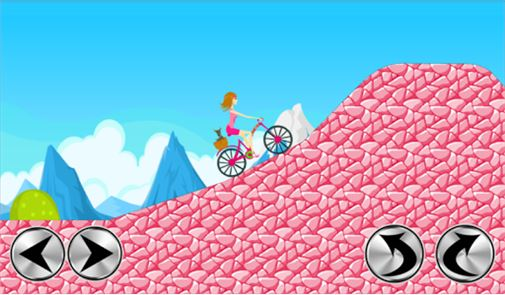 Biker Girl Hill Climb Cycling 4