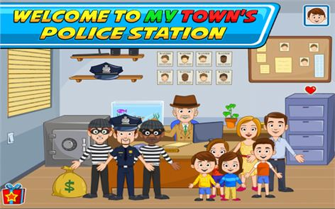 My Town : Police Station 2