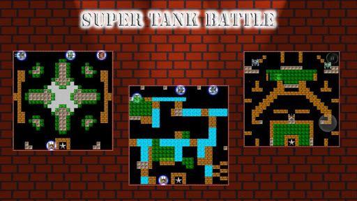 Super Tank Battle – 500 map 3