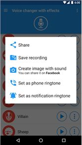Voice changer with effects 5