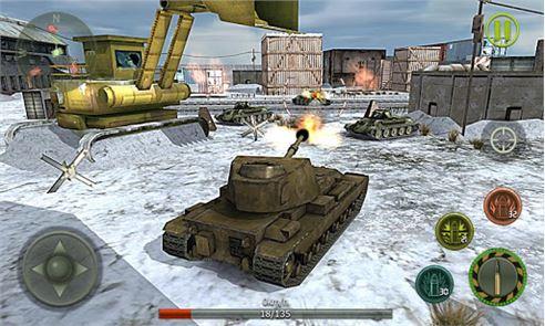Tank Strike 3D 3