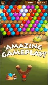 Forest Bubble Shooter Rescue 4