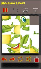 Sliding Puzzle Cartoon&Animals 6