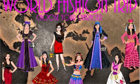 WORLD FASHION TRIP – GIRL GAME 2