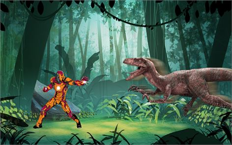 Super Iron : World Of Jurassic 2