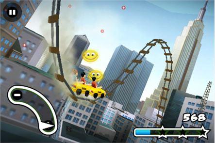 3D Rollercoaster Rush NewYork 3