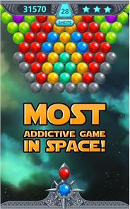 Bubble Shooter Space 2