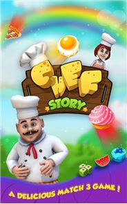 Chef Story:  Match 3 Games 1