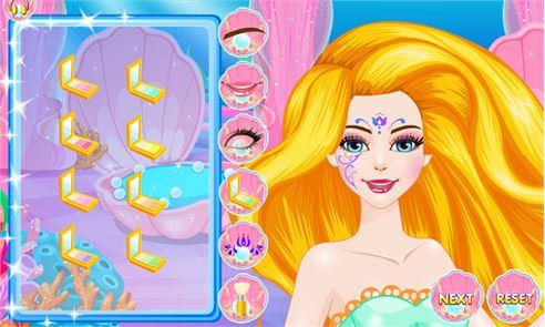 Mermaids Makeover Salon 1
