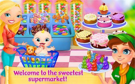 Supermarket Girl 1