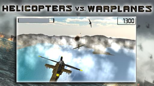 Helicopters vs Warplanes 4