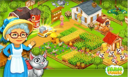 Farm Town:Happy City Day Story 1