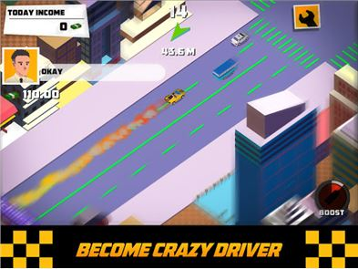 Crazy Traffic Taxi 5