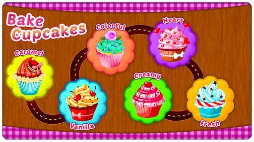 Bake Cupcakes – Cooking Games 1