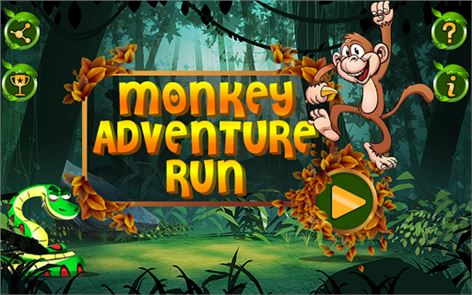 Monkey Adventure Run 6
